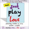 Seek Play Love presented by The Rosetta Center for Counseling and Wellness