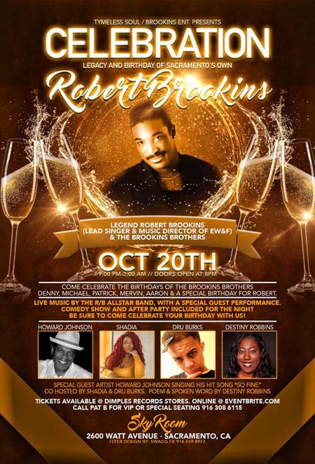 Robert Brookins Celebration