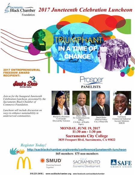 2017 Juneteenth Luncheon presented by SBCC