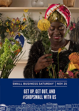 Shop Small Business Saturday November 25
