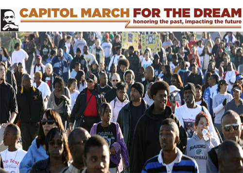 MLK March in Sacramento 2017
