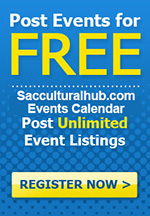 ADD your Event to the FREE Events Page on Sacculturalhub.com