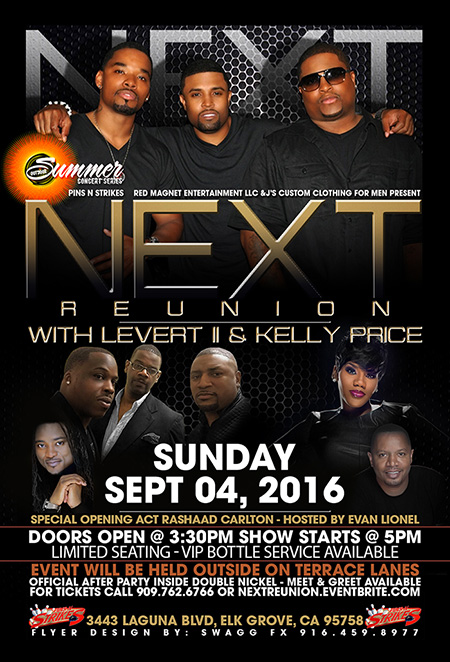 Next and Kelly Price