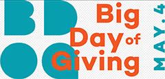 Annual Big Day of Giving - Thursday, May 4, 2017