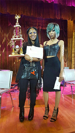 Sacramento Stylist, Crystal Whitehead, wins Hair Competition in Oakland