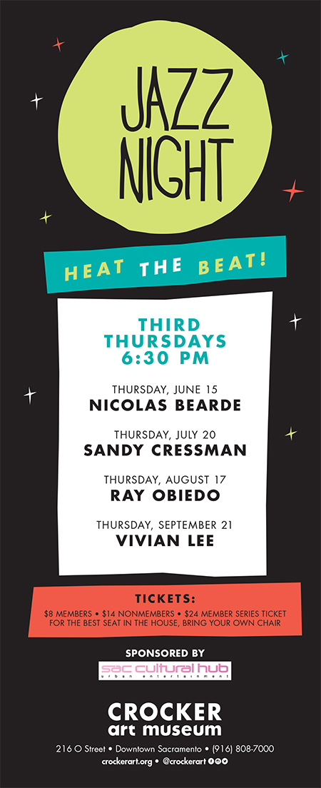 Third Thursdays - JAZZ - at The Crocker