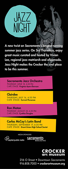 Experience JAZZ NIGHT at the Crocker Art Museum
