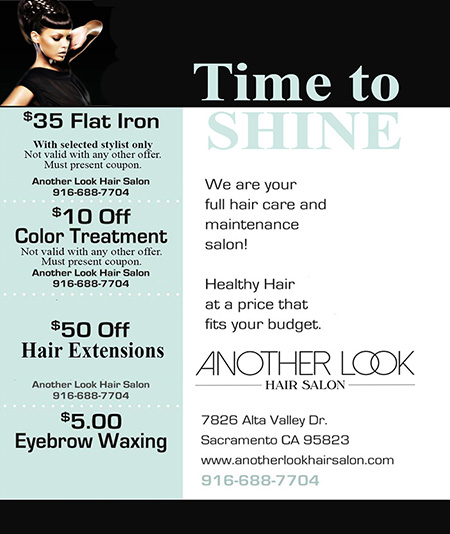 Specials at Another Look Hair Salon in Sacramento