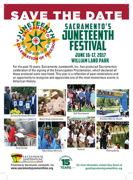 Annual Juneteenth Festival in Sacramento - June 16-17