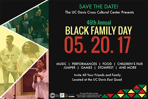 2017 UC Davis Black Family Day