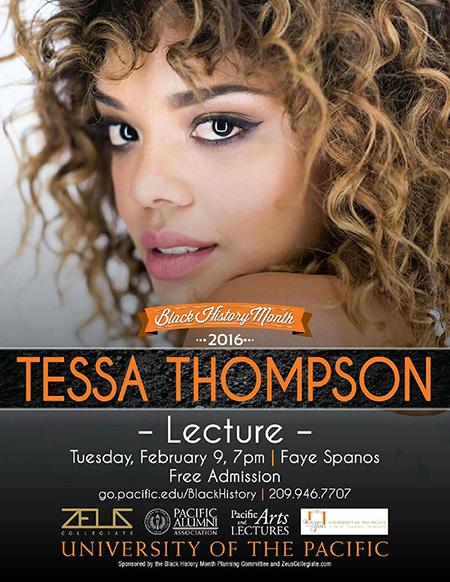 Tessa Thompson Lecture