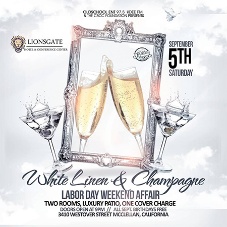 White Linen & Champagne Party