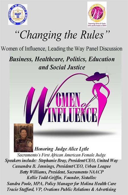 Women of Influence Leading the Way Panel Discussion