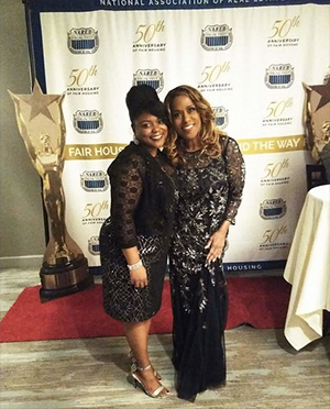 Lynell Holden of Holden Realty Homes with National Recording Artist Jennifer Halliday