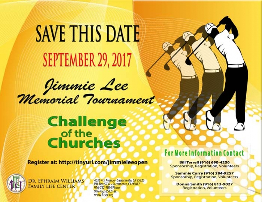 Jimmie Lee Memorial Golf Tournament with a Challenge of the Churches