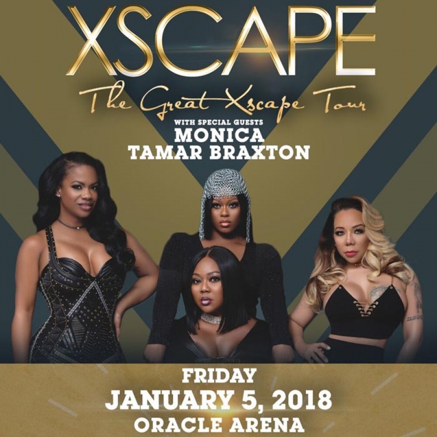 THE GREAT XSCAPE TOUR with Special Guests Monica and Tamar Braxton