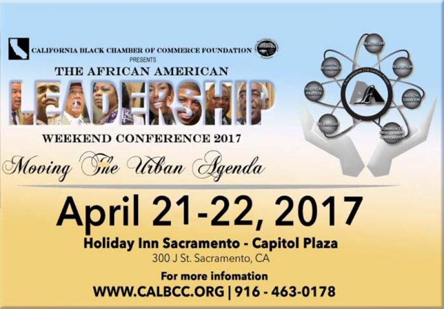 Register now for the African American Leadership Weekend Conference April 21-22