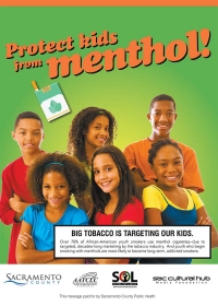 DID YOU KNOW that you can help us STOP the Predatory Marketing of Menthol and other flavored tobacco products?