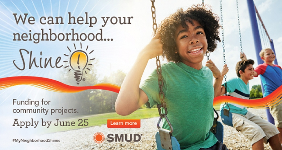 Apply by June 25: SMUD's Shine Community Sponsorship Program