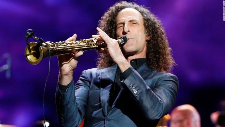 HUB ORIGINAL:  Kenny G Killed It In Modesto…and He's Wishing Napa A Happy Holiday Season