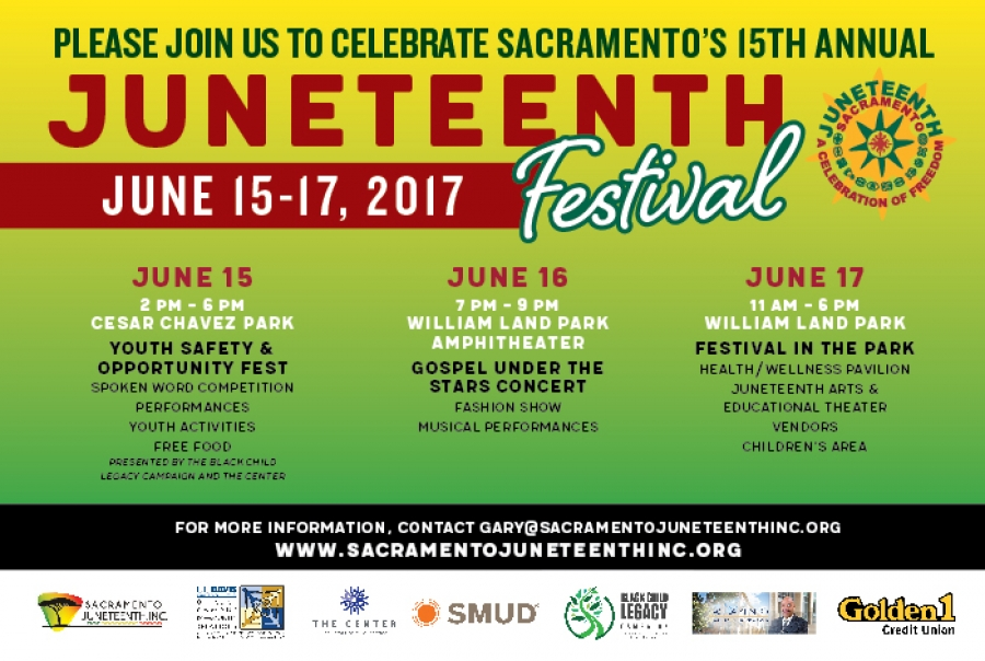2017 Sacramento Juneteenth Festival Celebration
