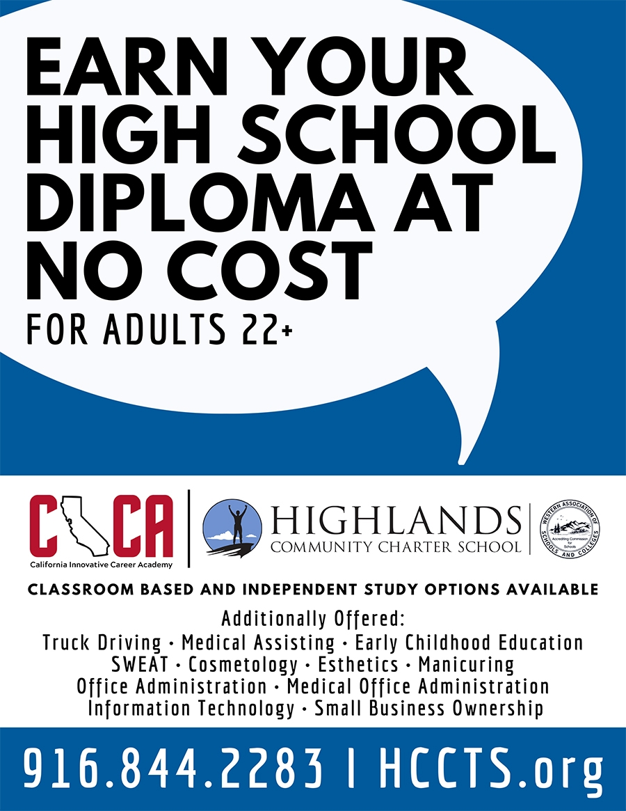 Still looking to earn your high school diploma, enroll in Highlands Community Charter School now