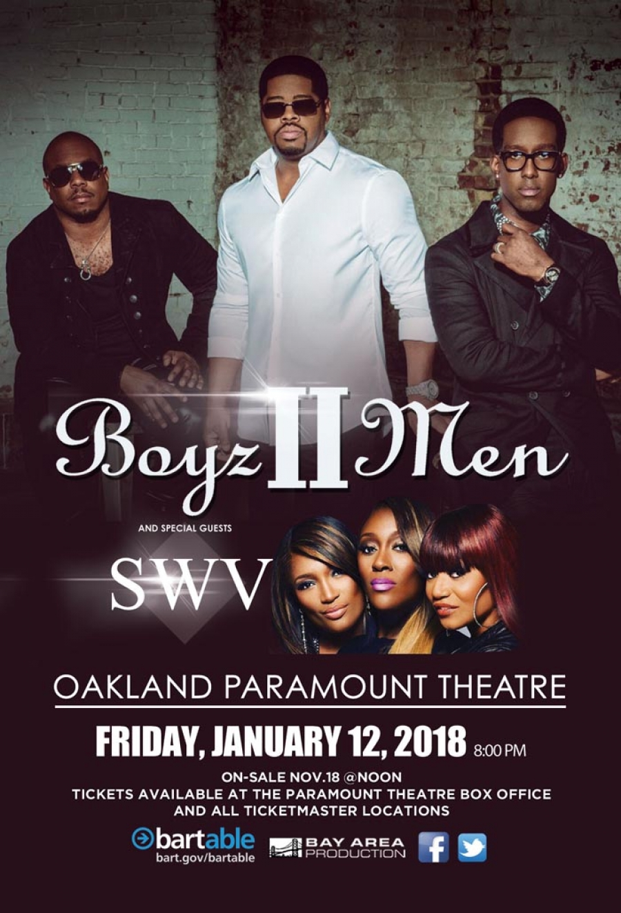 Boyz II Men with special guests SWV