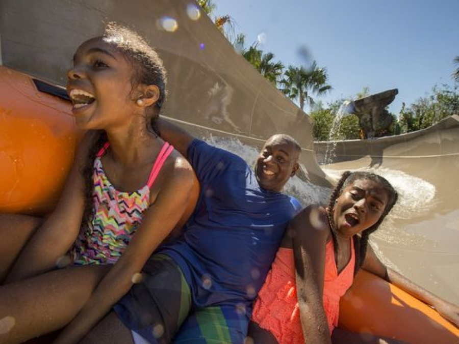 Disney's Typhoon Lagoon: The place for Miss Adventure
