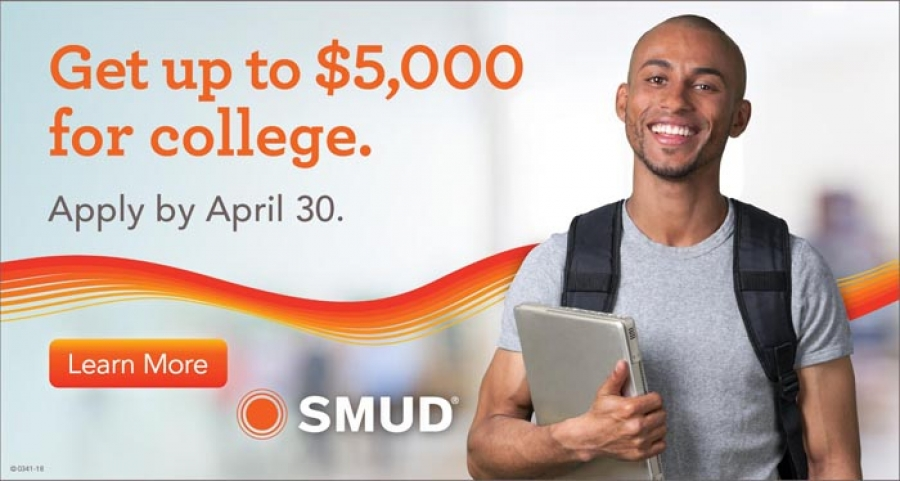 "SMUD ""Powering Futures"" Scholarships - Extended deadline to April 30"