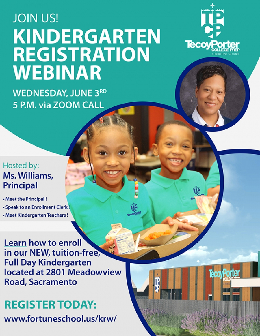 SAVE THE DATE for the Kindergarten Registration Webinar