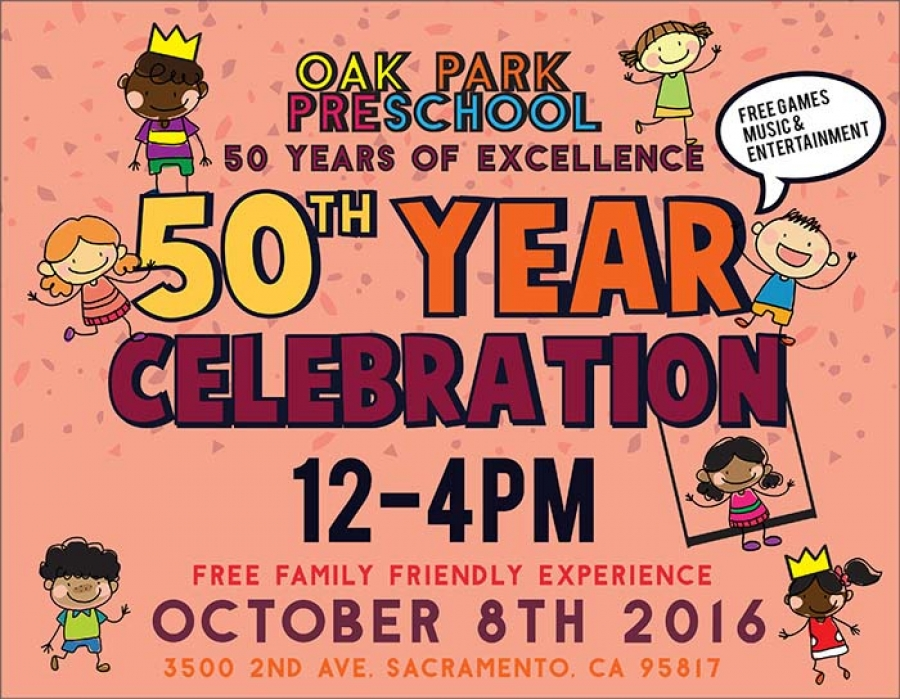 50th Year Celebration of Oak Park Preschool Inc