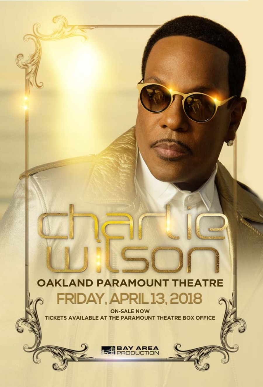 Charlie Wilson performing LIVE at Oakland Paramount Theatre