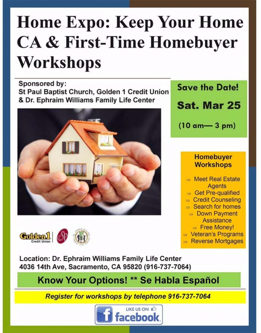 Home Expo: Keep Your Home CA & First-Time Homebuyer Workshops