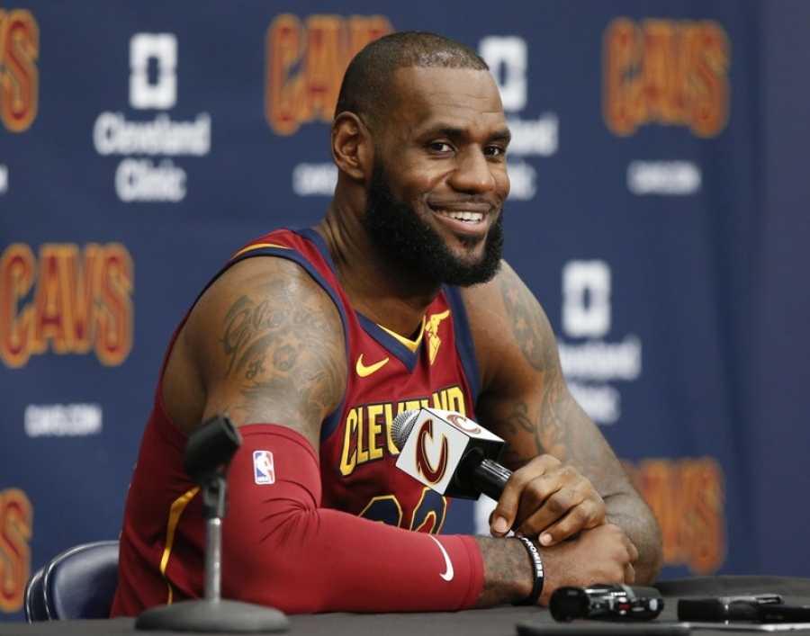 LeBron James defends NFL protests: 'It's not about the disrespect of our flag'