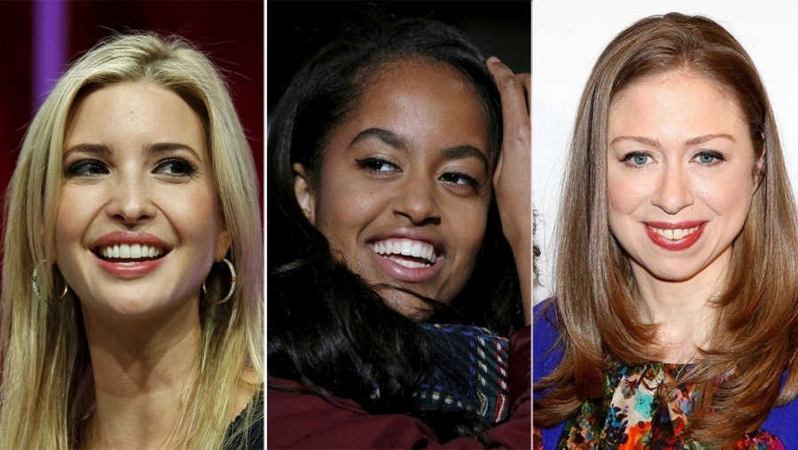 First daughters Ivanka Trump and Chelsea Clinton tell media to leave Malia Obama alone