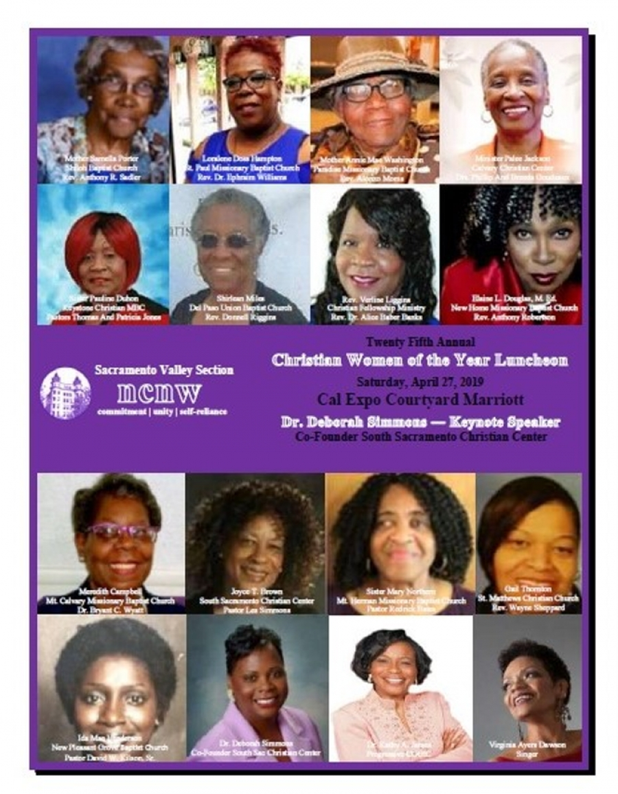25th Annual Christian Women of the Year (CWOYs) Luncheon