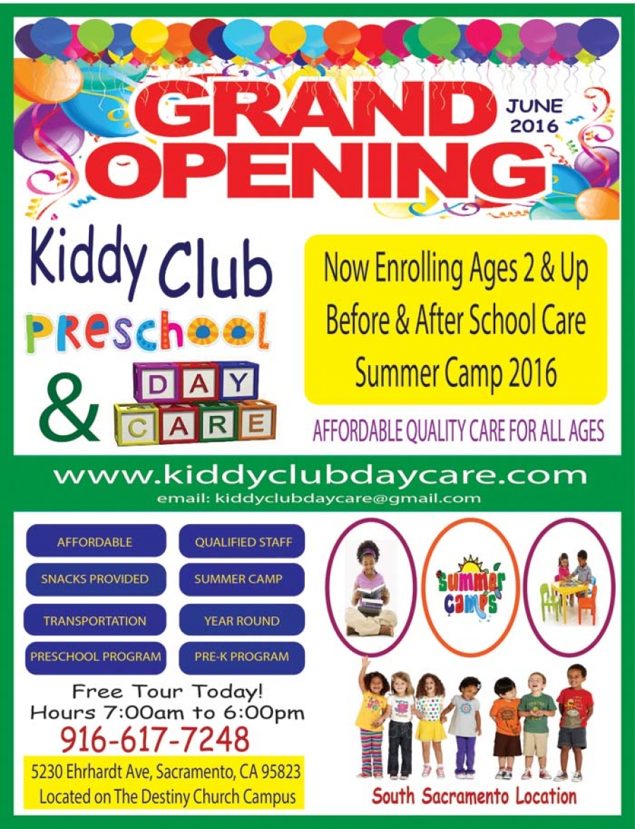 Grand Opening June 2016 for the Kiddy Club Preschool