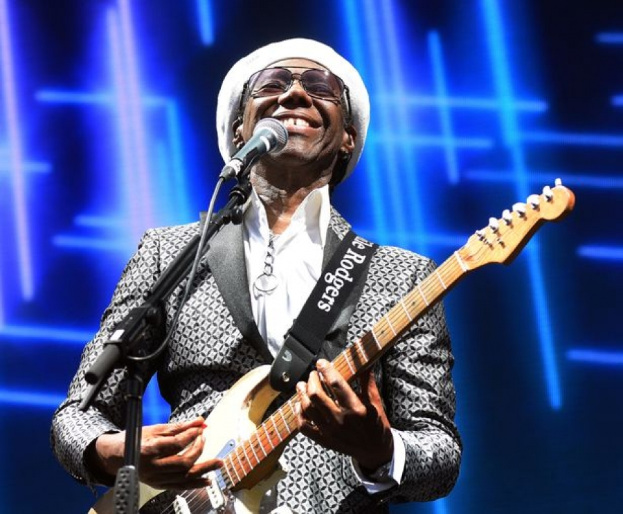 Nile Rodgers made a bombshell revelation about his health at Gloucester gig