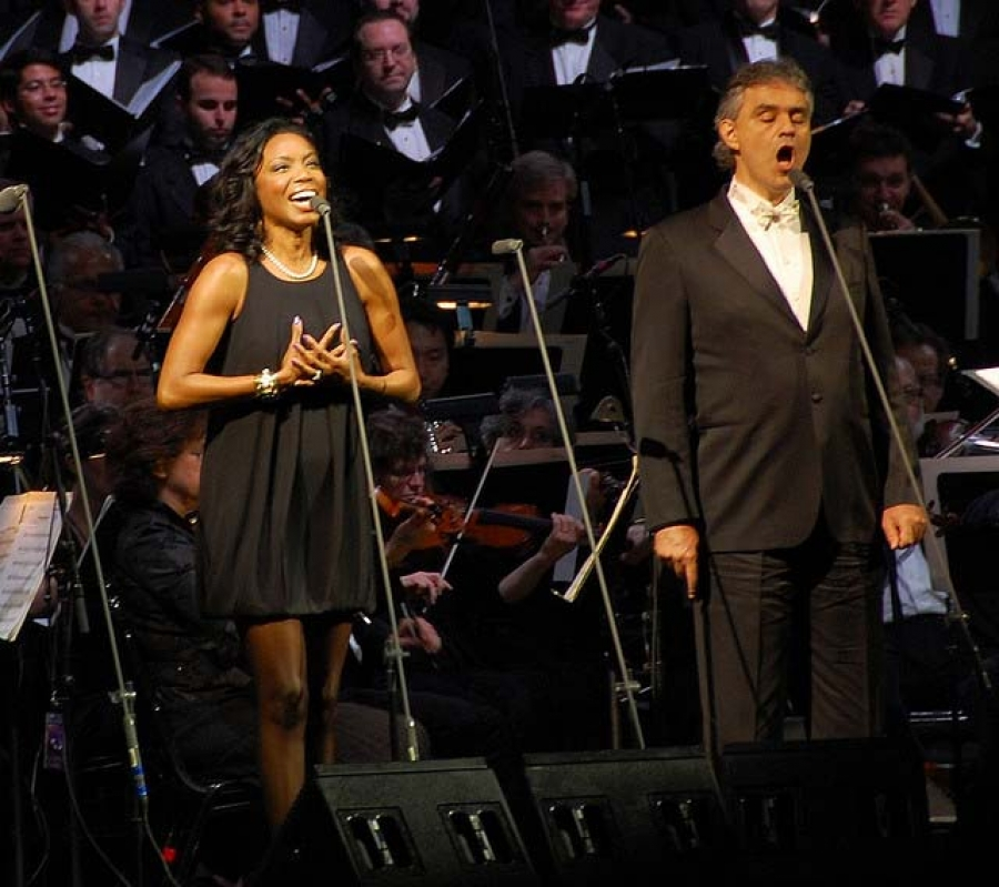 HUB REVIEW:  Andrea Bocelli Created Magic with Heather Headley, Others at Sleep Train Arena