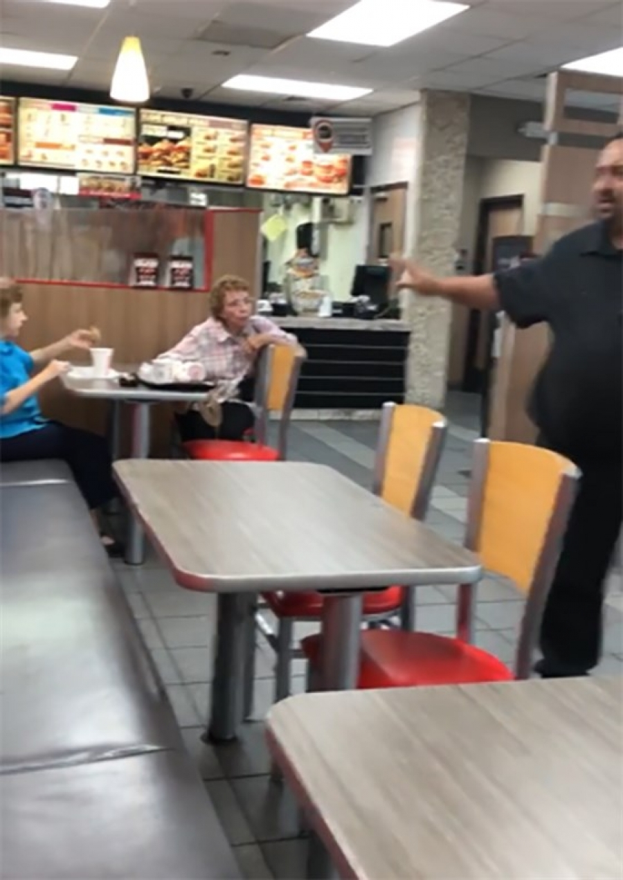 Two Burger King customers tell Spanish-speaking manager to 'go back to Mexico'