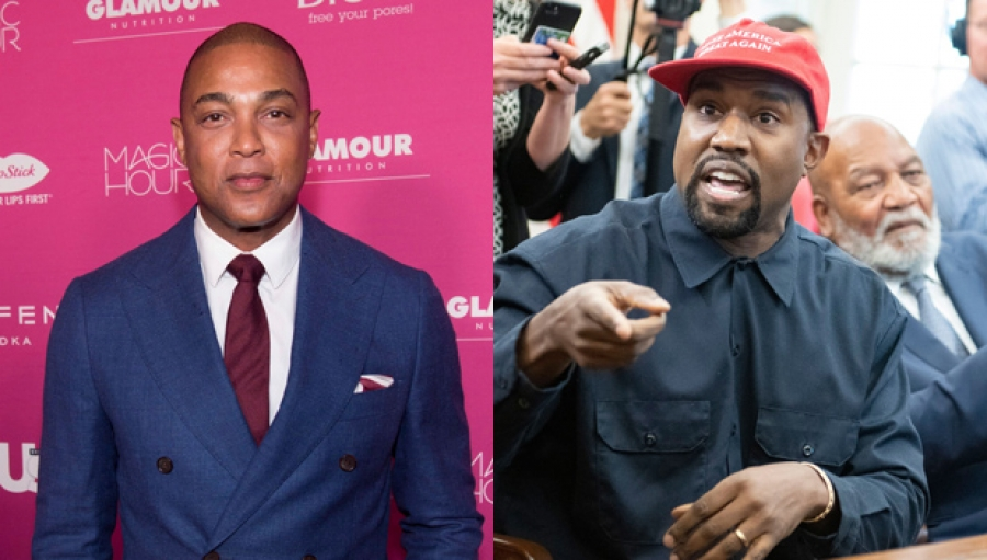 Kanye West's Trump 'Minstrel Show' Has Rapper's Mom 'Rolling Over In Her Grave' Says Don Lemon