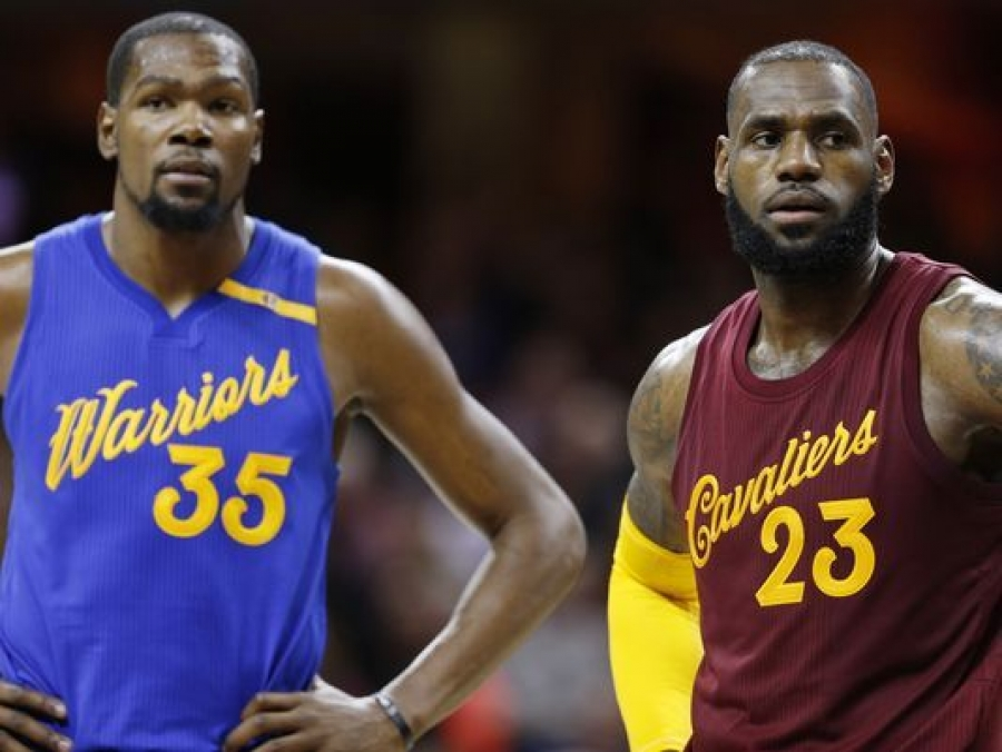 Cavaliers-Warriors, Rockets-Thunder highlight NBA Christmas Day games