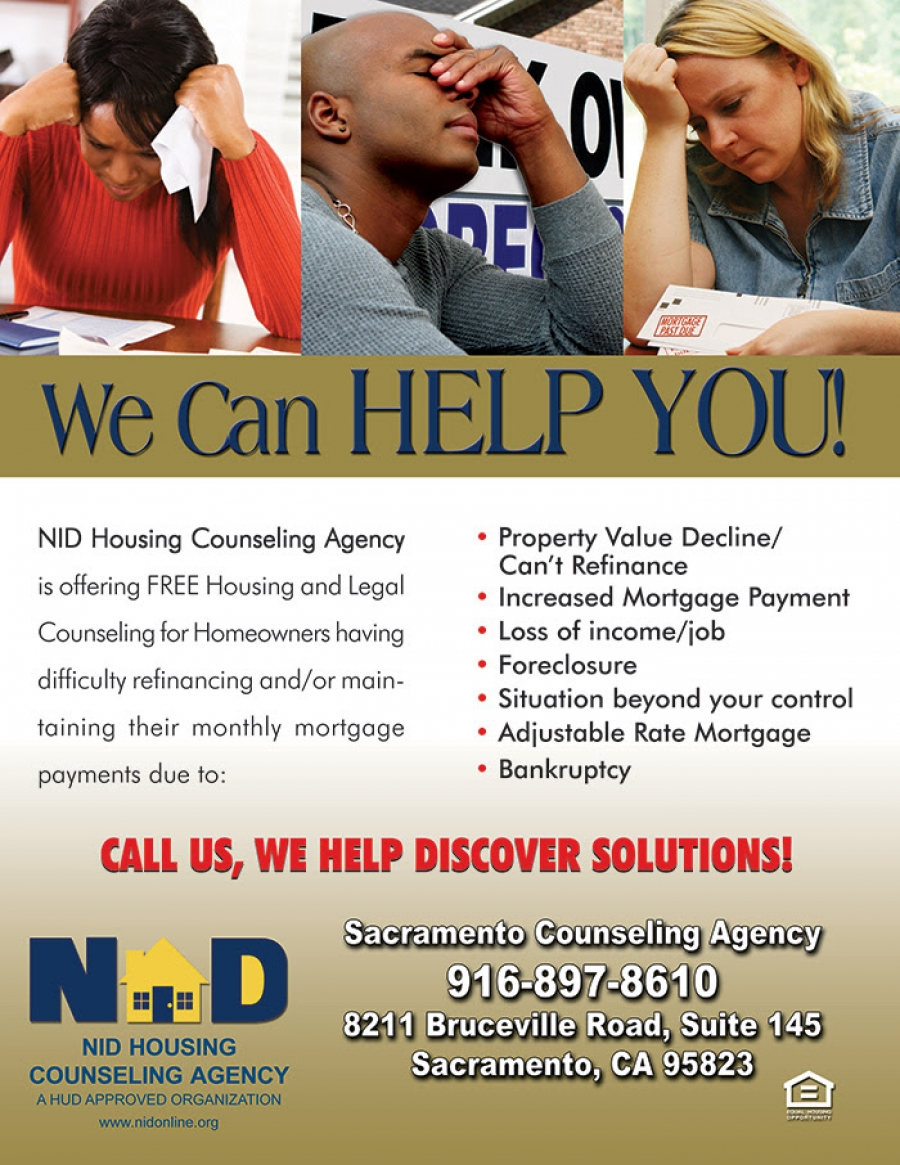 Are you a FRUSTRATED Homeowner facing mortgage trouble? Let us provide you with one-on-one counseling services.