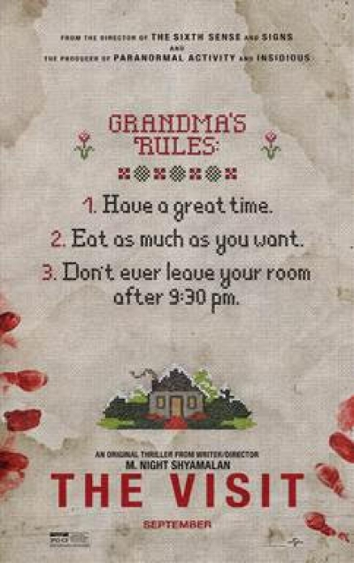 "Win Tickets to see ""The Visit"""