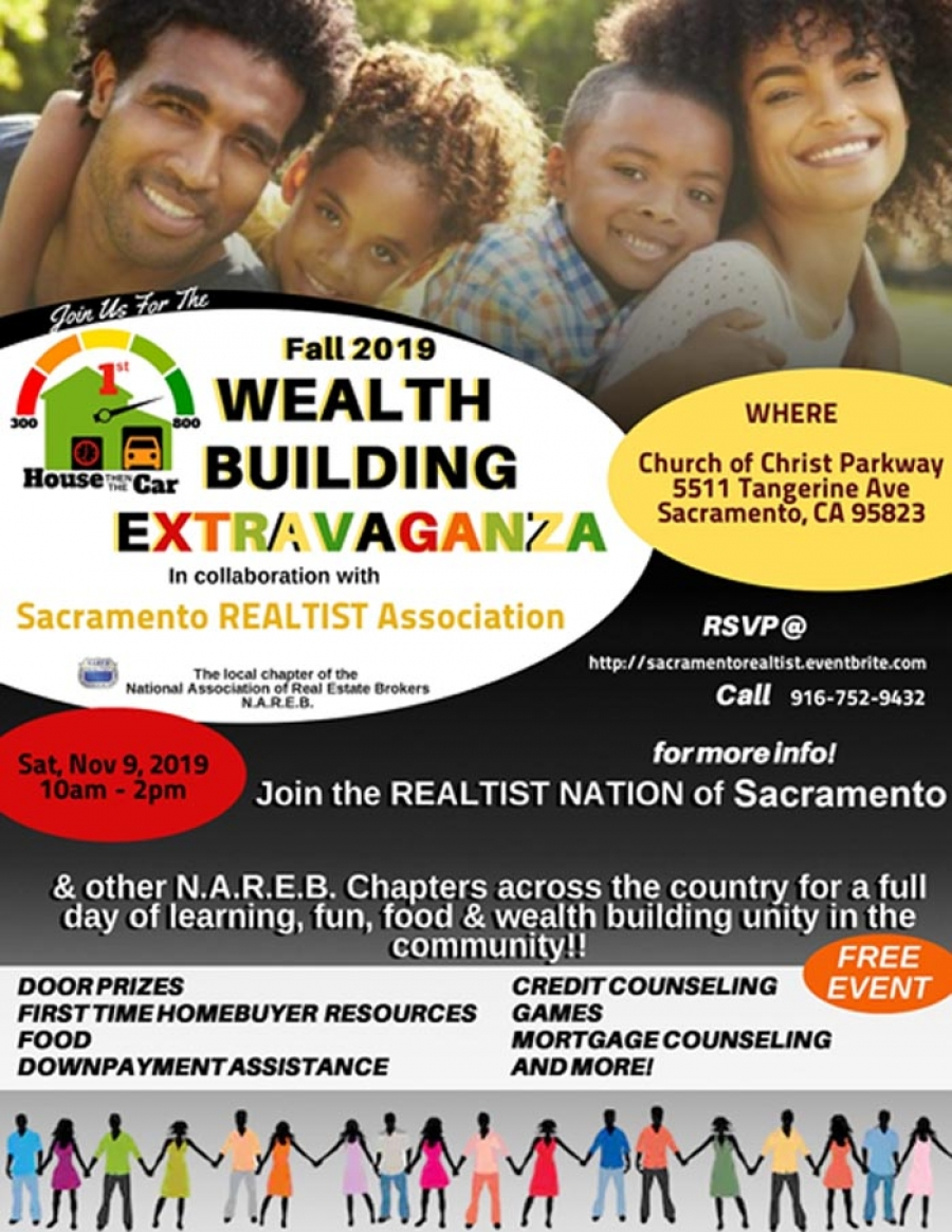Fall 2019 Wealth Building Extravaganza – FREE Community Housing Fair