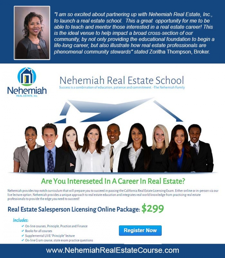 Are You Interested In A career In Real Estate? Enroll in