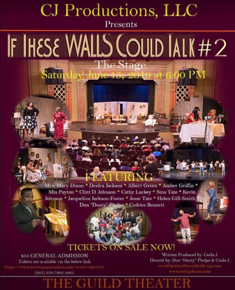 "Don't miss ""If These WALLS Could Talk #2"" theatre stage play"