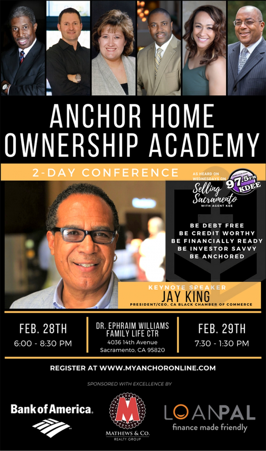 Get 17k from B of A, Get Credit Worthy, Get Debt Free, Get Investor Savvy, Get Anchored!