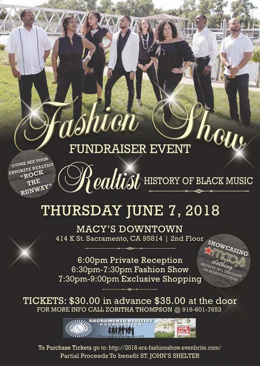 2nd Annual Sac Realtist FASHION SHOW FUNDRAISER EVENT