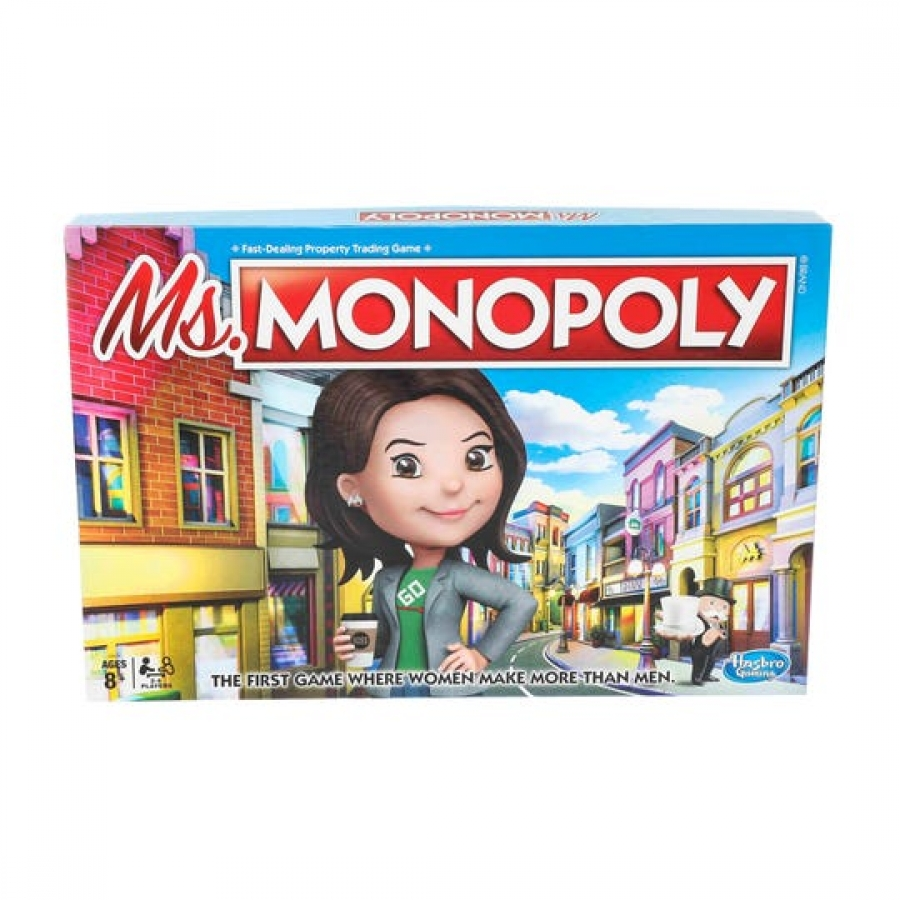 Girl power: Hasbro brings gender pay gap debate to game night with new Ms. Monopoly